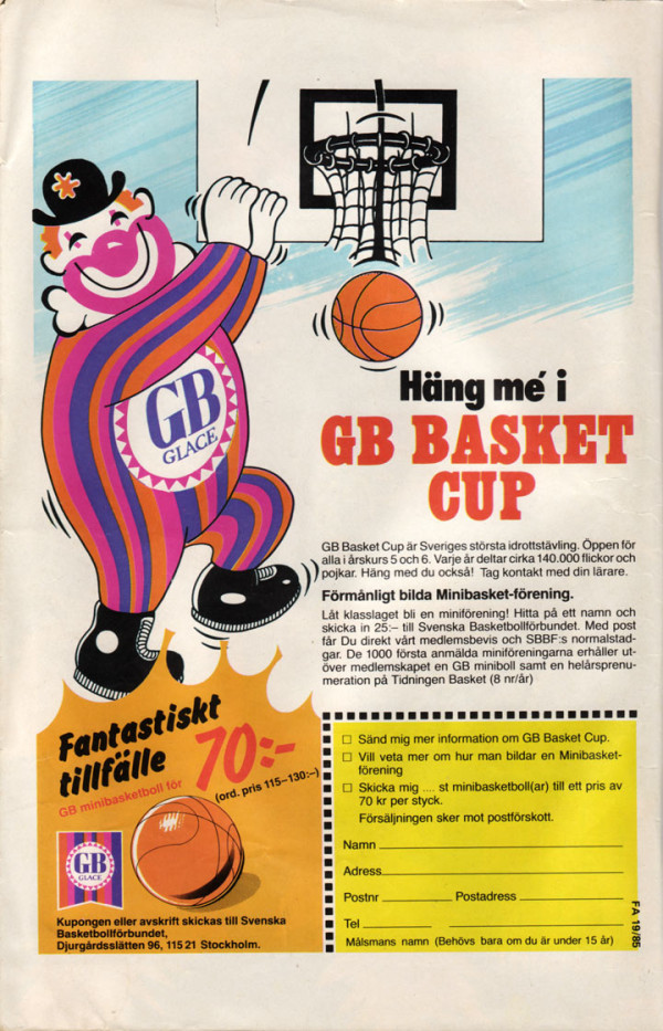 GB Basket Cup