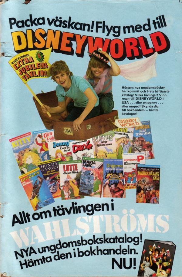 Vinn resa till Disneyworld med Wahlströms
