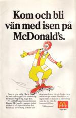Iskunkap med McDonald's