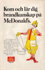 Brandkunskap med McDonald's