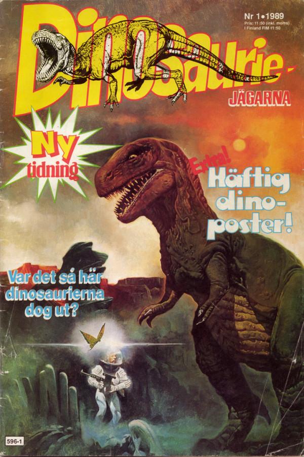 Dinosauriejägarna 1/89