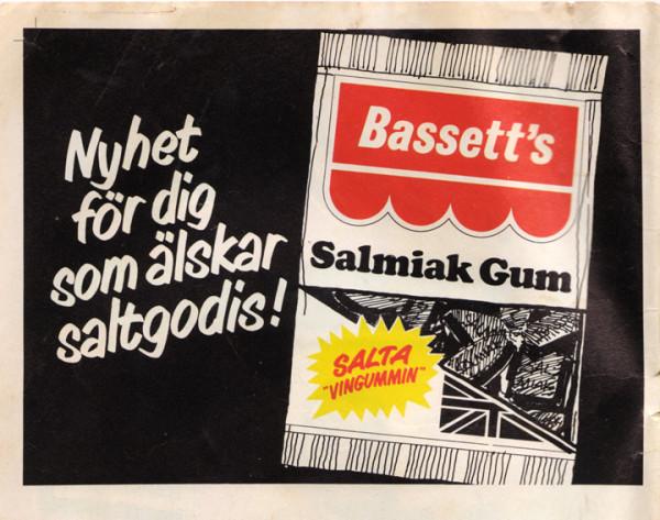Bassett's Salmiak Gum