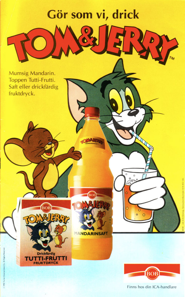 Tom och Jerry mandarinsaft