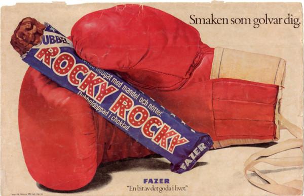 Rocky - smaken som golvar dig